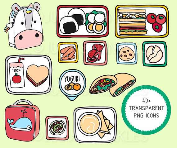 Clipart lunch cute. Lunchbox healthy kids