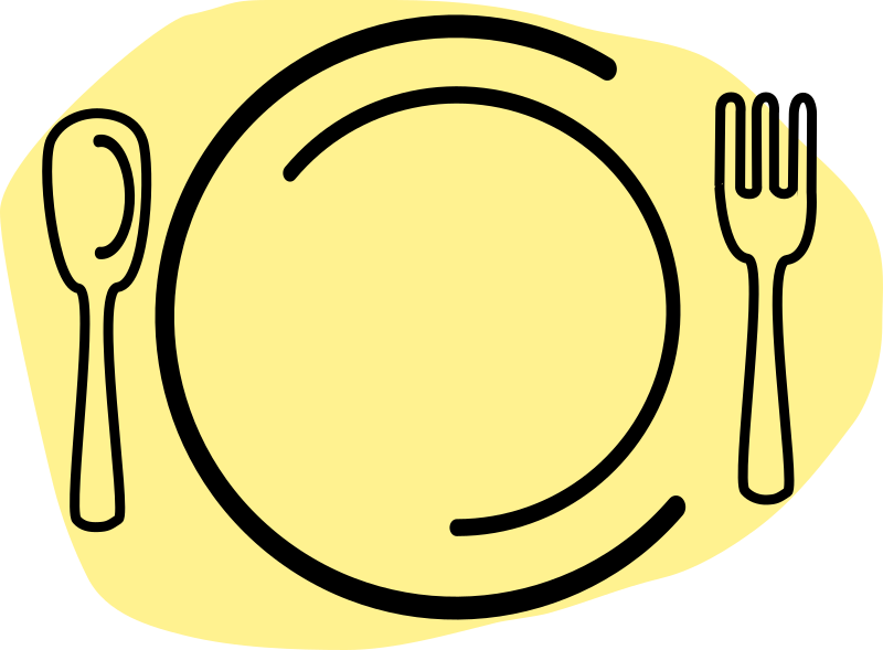 collection of elegant. Luncheon clipart menu