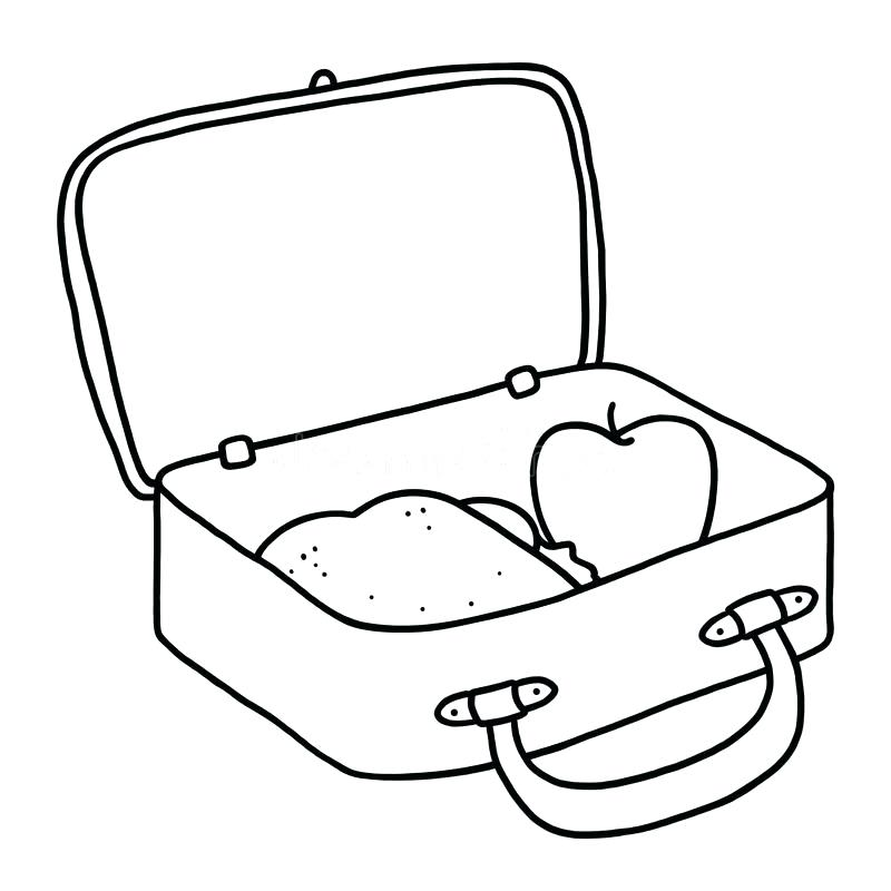 Free lunch box download. Lunchbox clipart empty