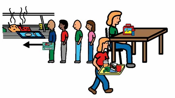 Collection of free download. Lunchbox clipart school lunch line