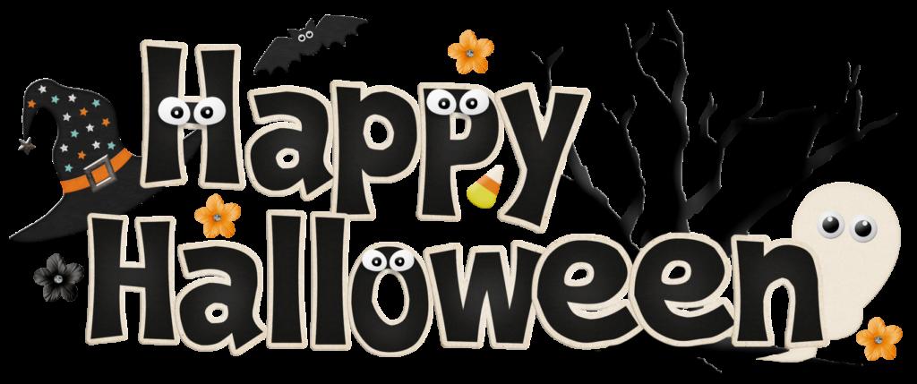 Scary happy cedar grove. Halloween clipart flyer