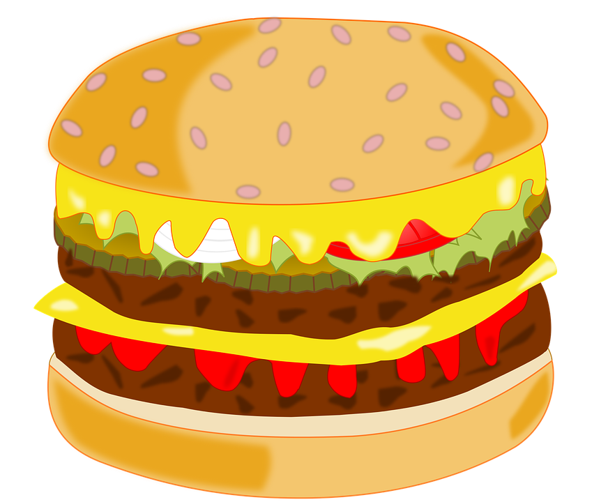 Hamburger food pencil and. Clipart lunch home