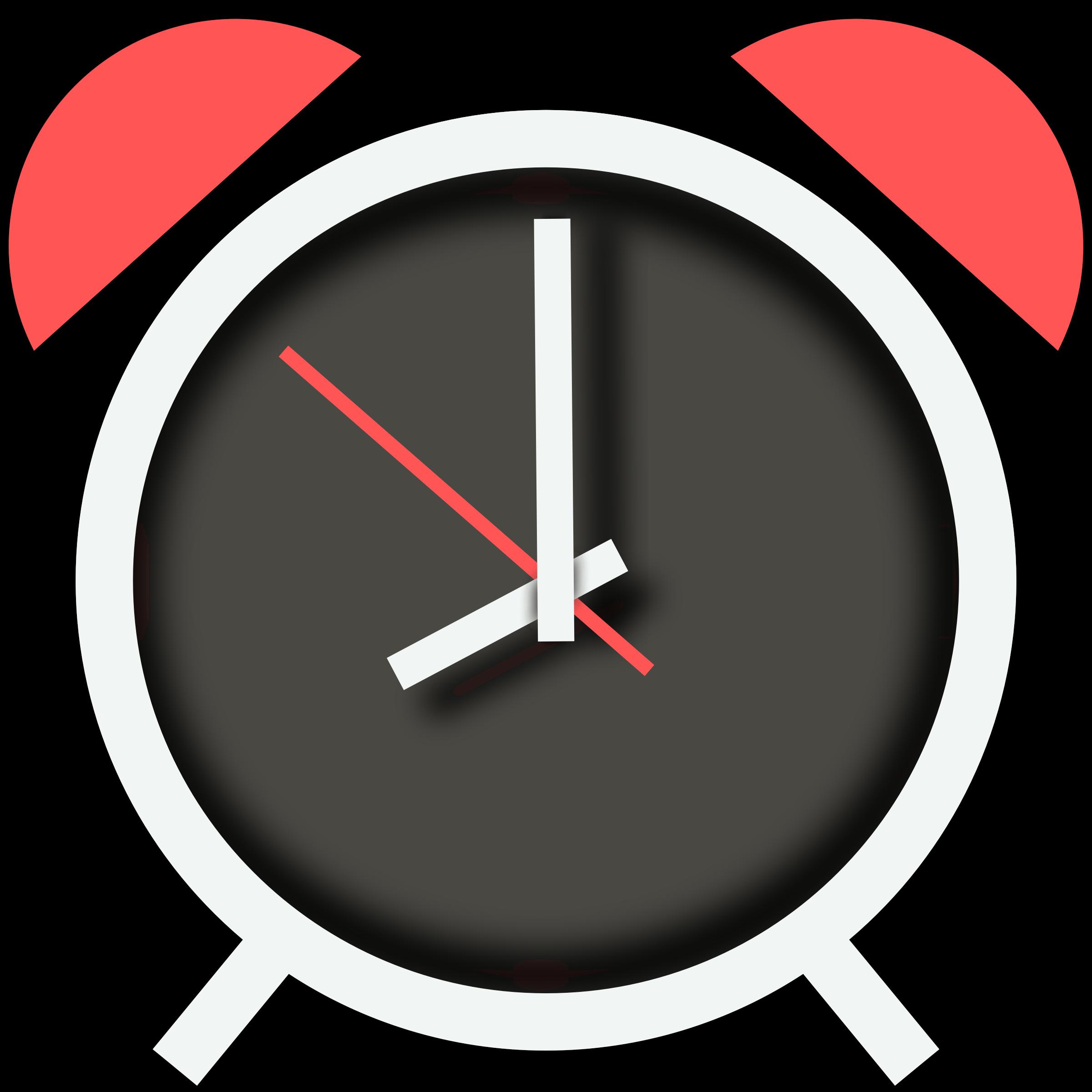 Clock clipart half past. Alarm icon jelly beam