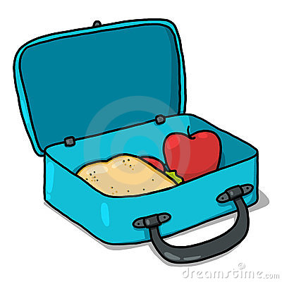 box clip art. Lunchbox clipart bagged lunch