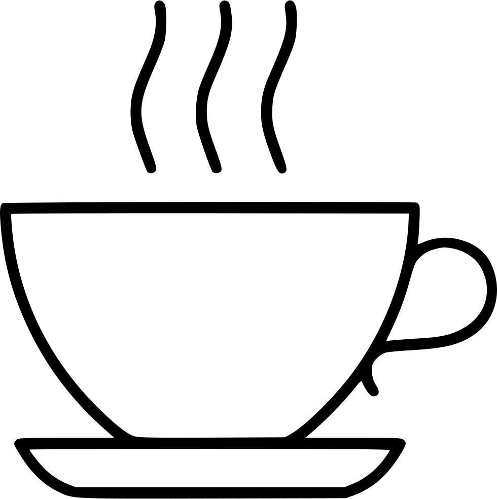 Clipart lunch lunch break. Coffee tea beverage svg