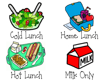 Clipart lunch lunch choice. Labels graph headings