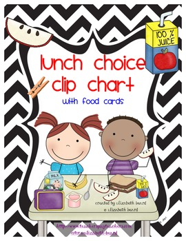 Clipart lunch lunch choice. Clip chart my tpt
