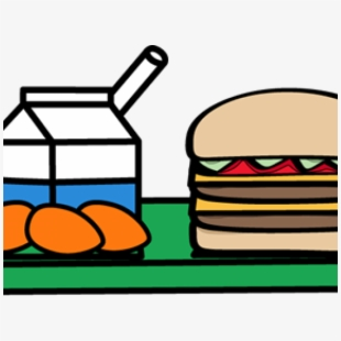 Box milk carton with. Clipart lunch lunch choice