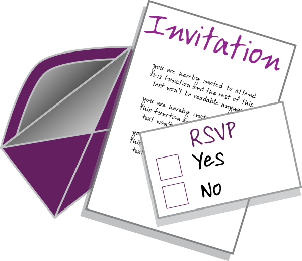 Envelope clipart invitation envelope. Clip art at clker