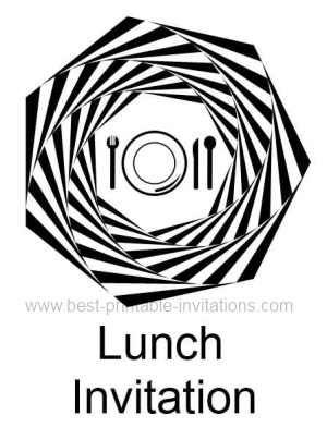 Luncheon clipart lunch invitation. Printable invite soup