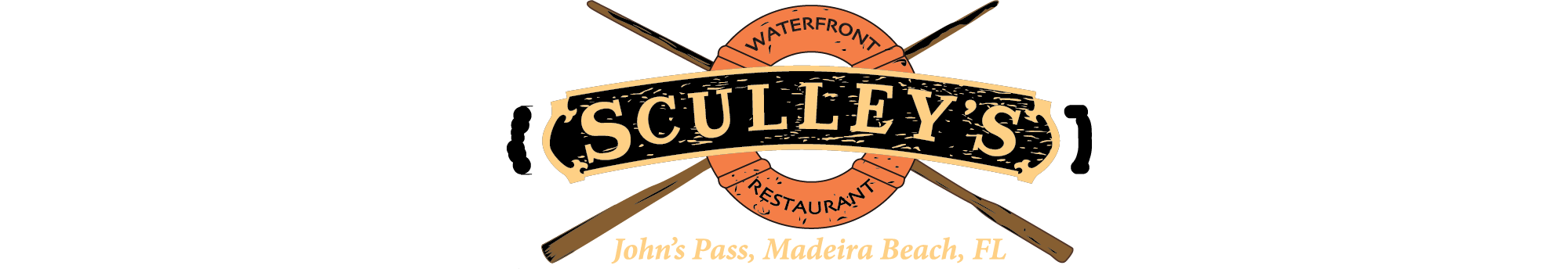 Menu sculley s waterfront. Clipart lunch lunch pass