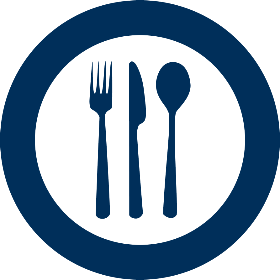 Unified school district belle. Restaurants clipart icon
