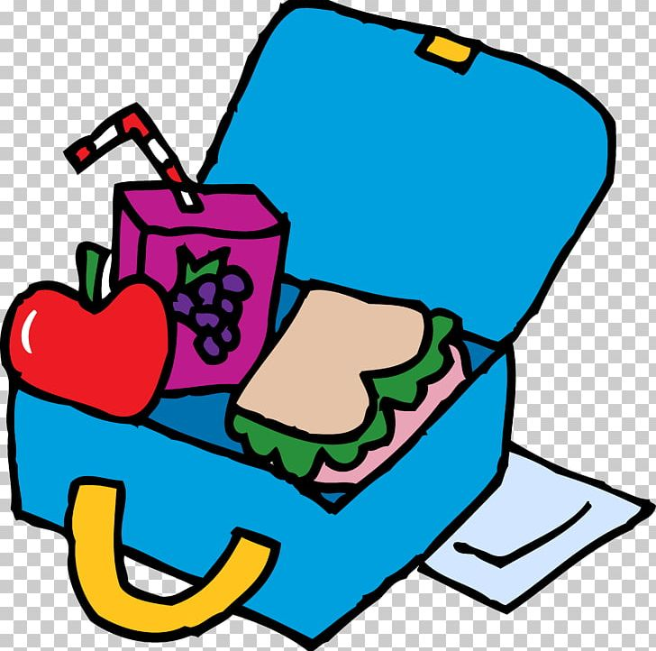Coloring book packed lunch. Lunchbox clipart summer