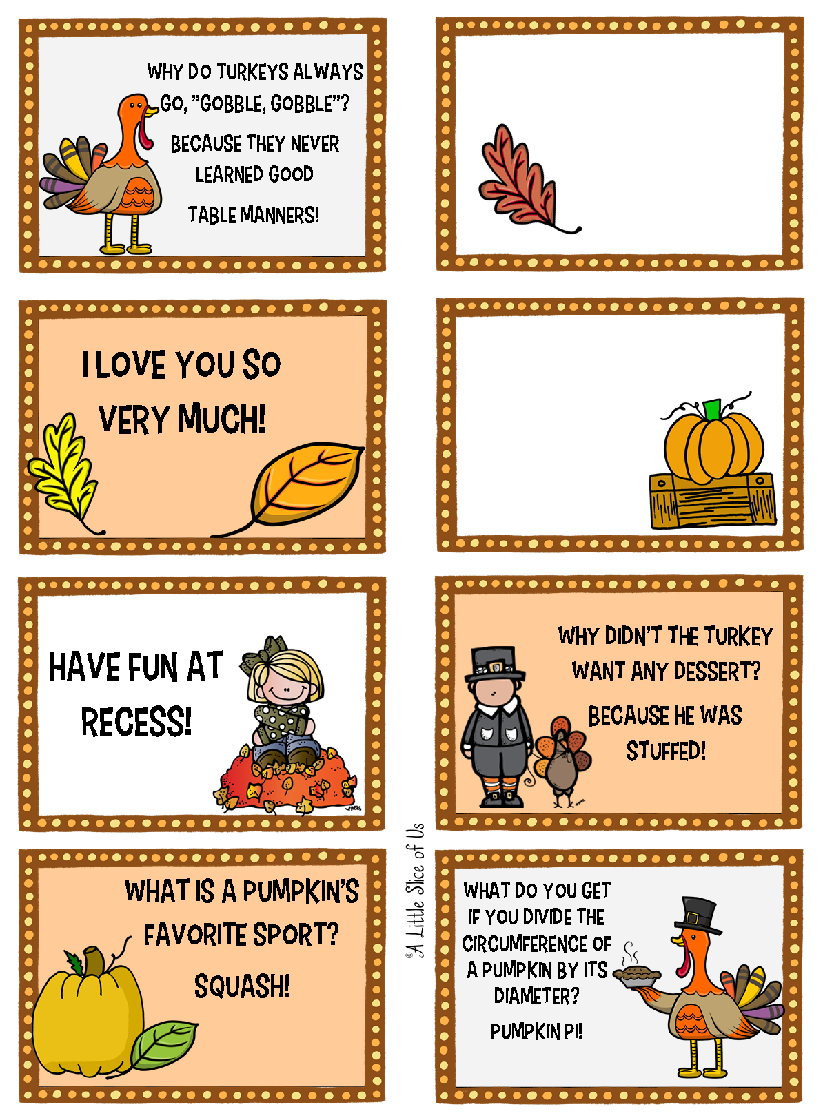 Thanksgiving box notes thanksgivinglunchboxnotes. Lunchbox clipart lunch break sign