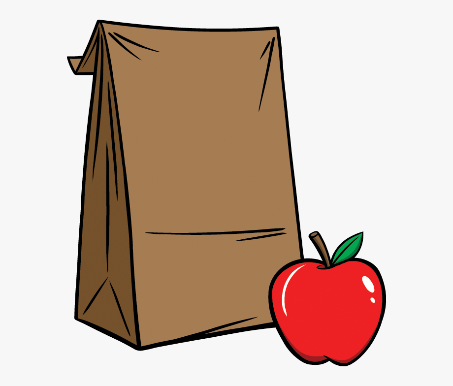 Sack clip art brown. Lunchbox clipart lunch bunch