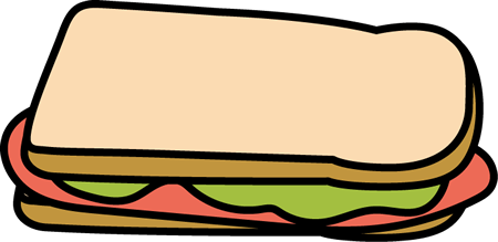 Sandwich free mycutegraphics sandwiches. Ham clipart sandwhich