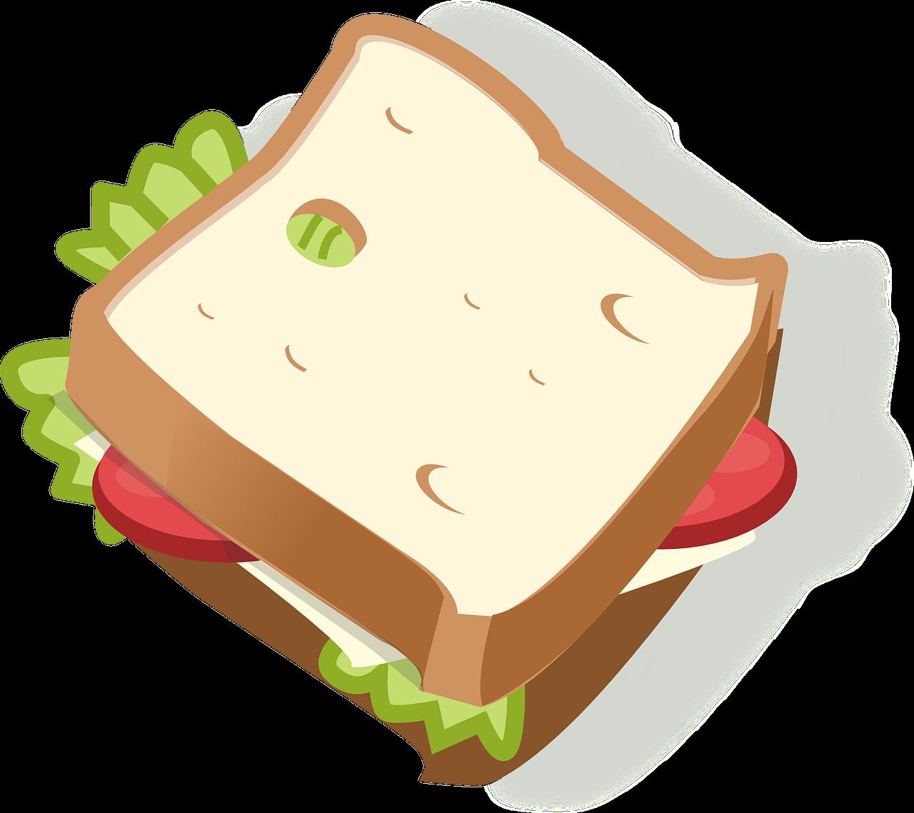 Katie cupcake cymru the. Clipart lunch sandwich lunch