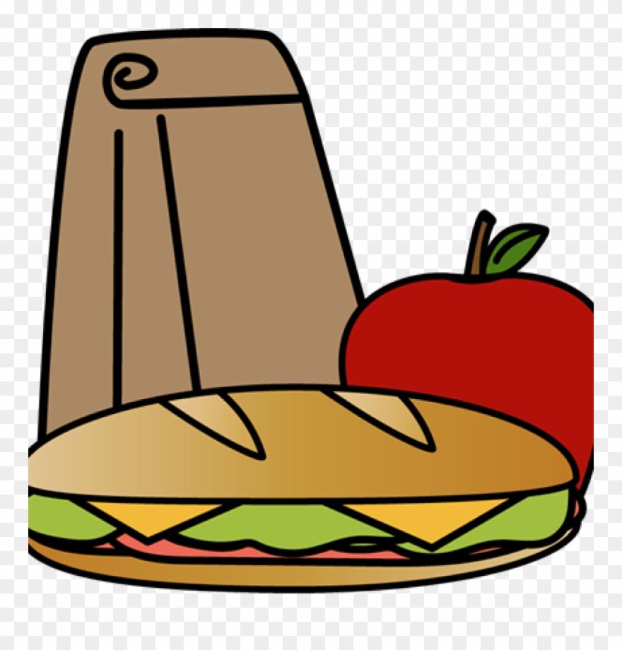 Clipart lunch sandwich lunch. Bag clip art image