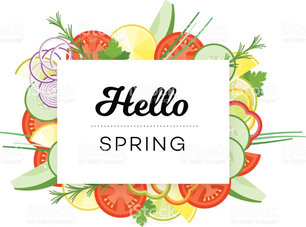 Clip art food arts. Clipart lunch spring