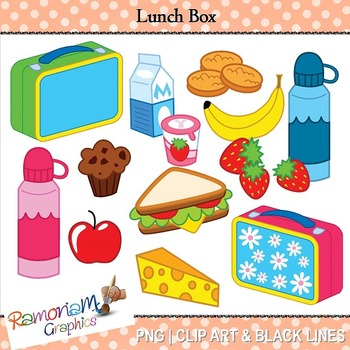 Clip art . Lunchbox clipart lunch item