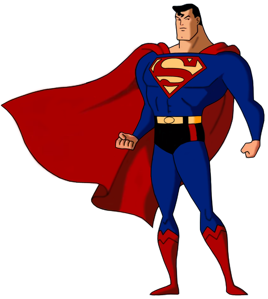 Image superman death battle. Animated png images