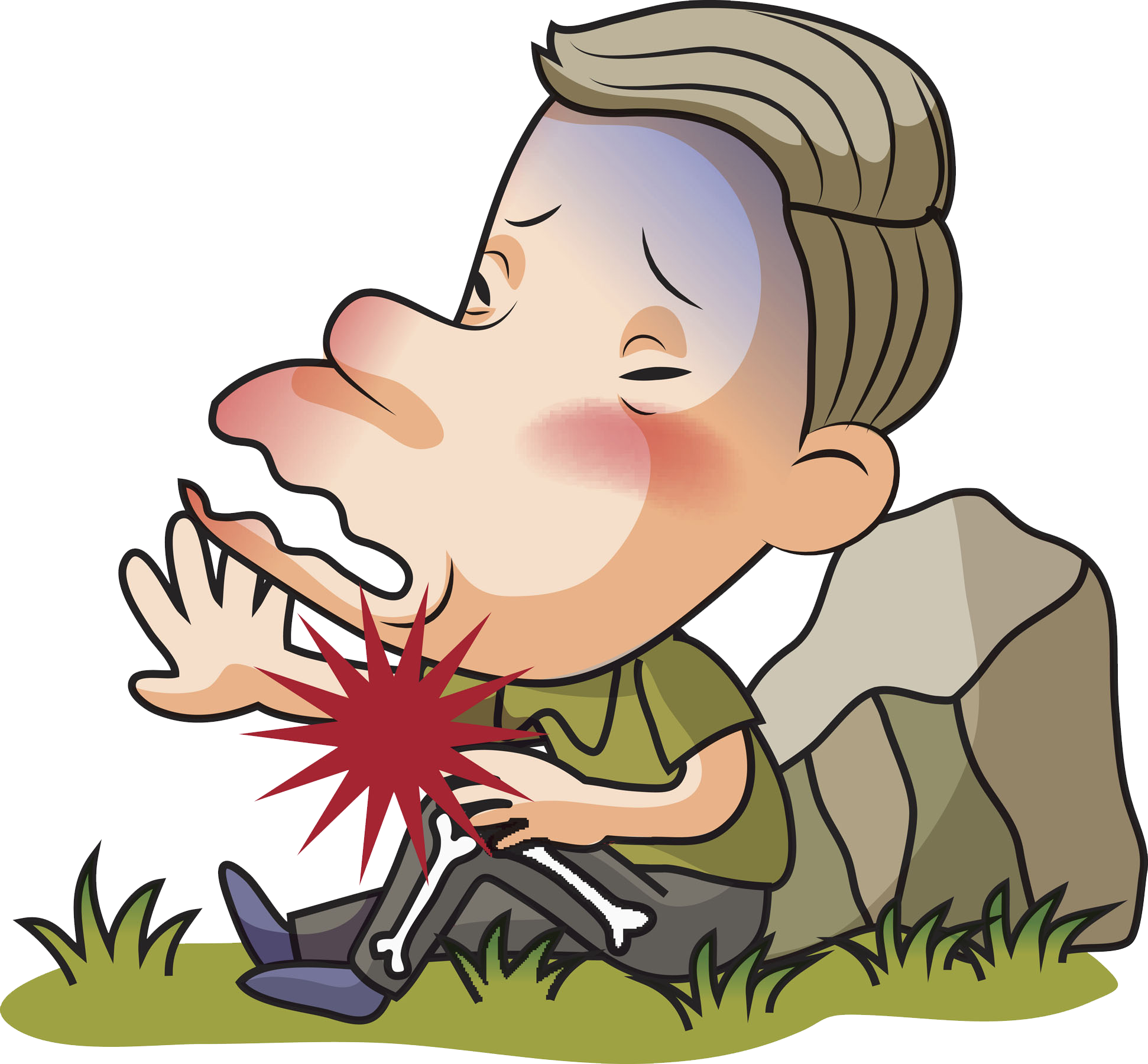 Human clipart stone age man. Falling old clip art