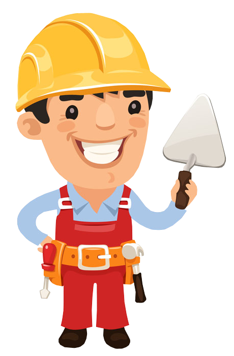 Clip art portfolio categories. Clipart man builder