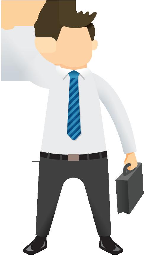 Business portfolio categories designshop. Professional clipart buisnessman