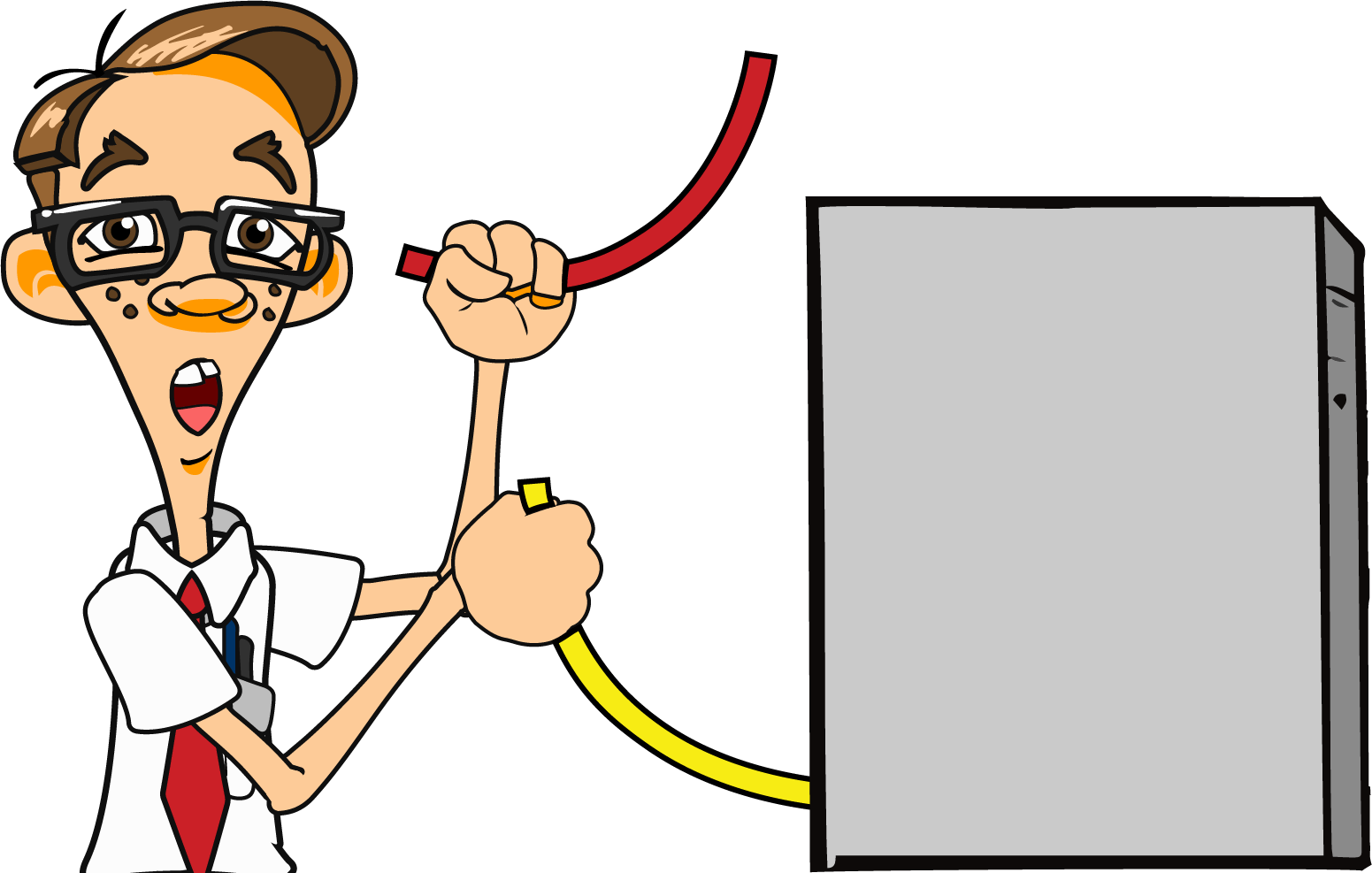 Internet help cable. Mechanic clipart troubleshooting