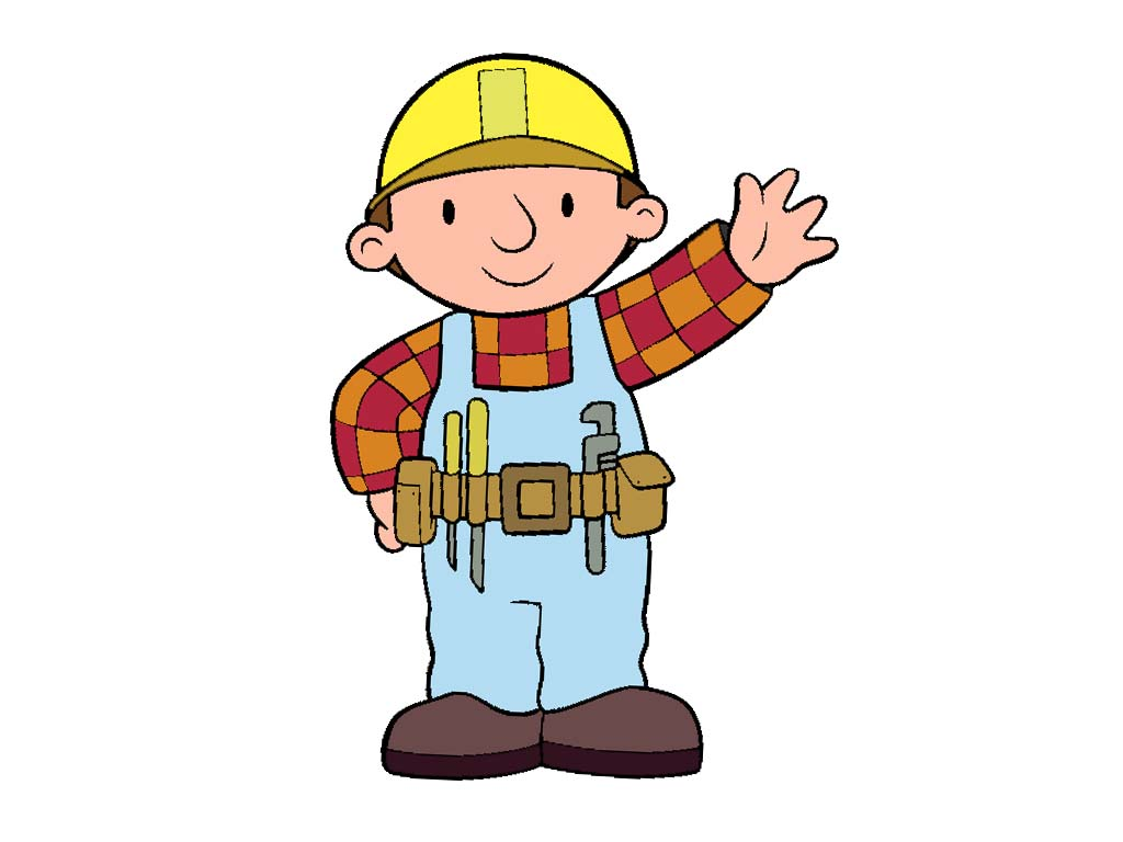 Construction worker lego man. Contractor clipart kid