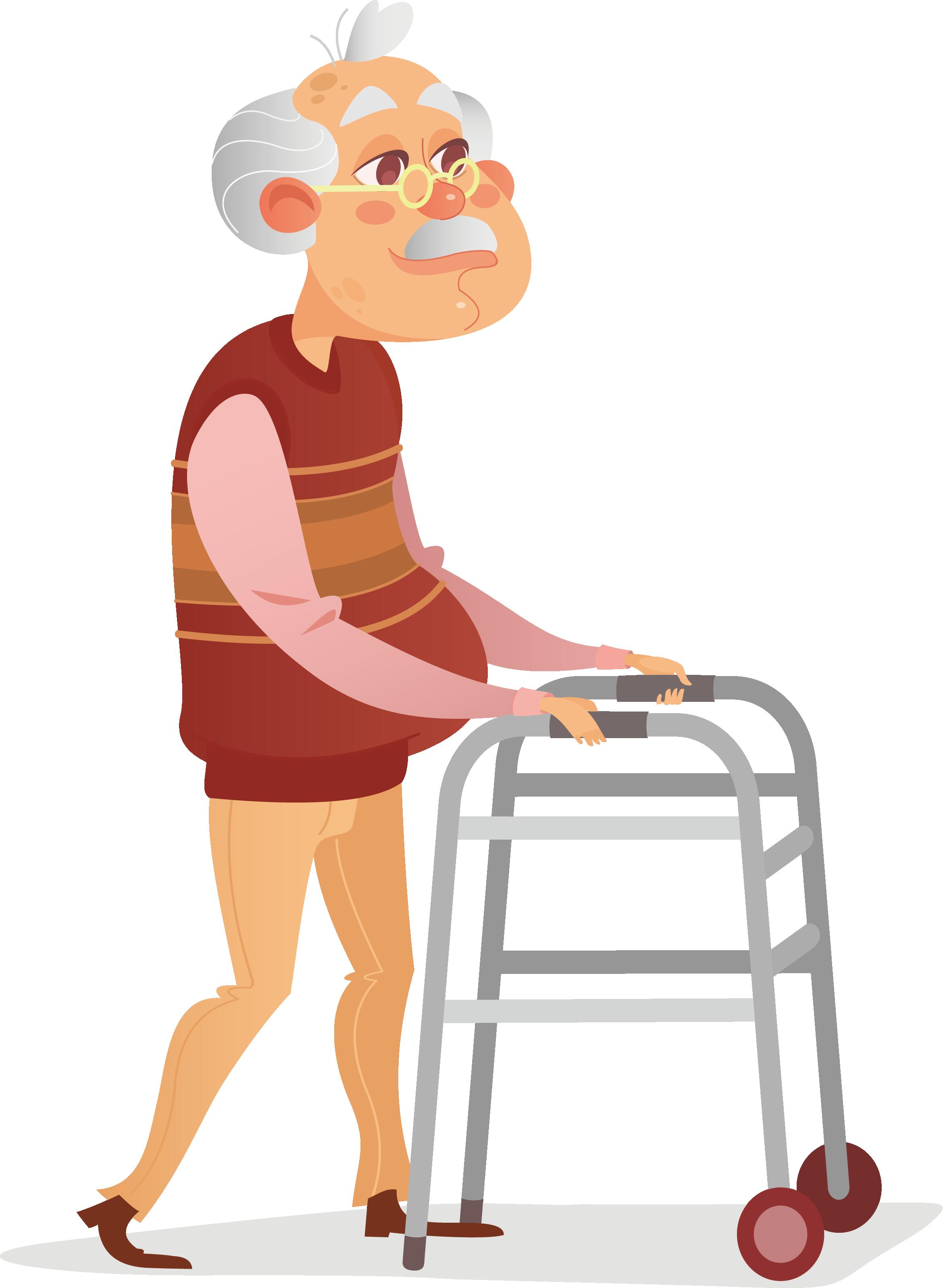 Clipart walking man illustration. Disability wheelchair crutch an