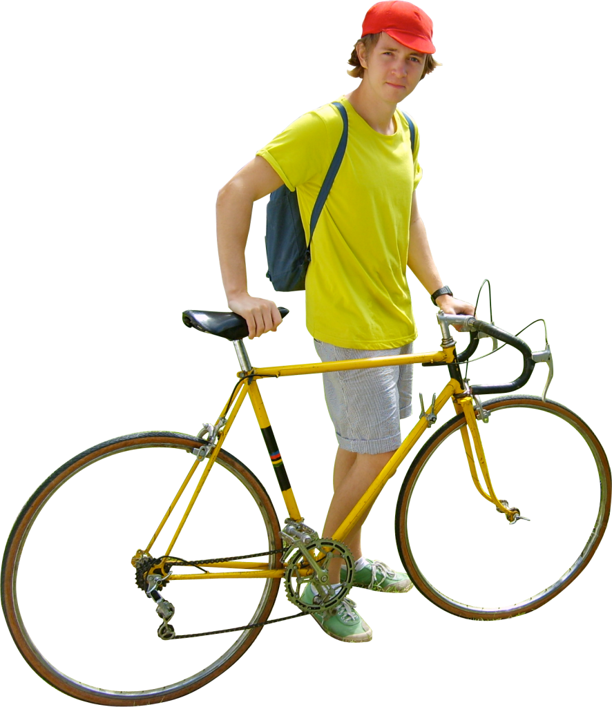 Cycle clipart yellow bicycle. Bike png image purepng