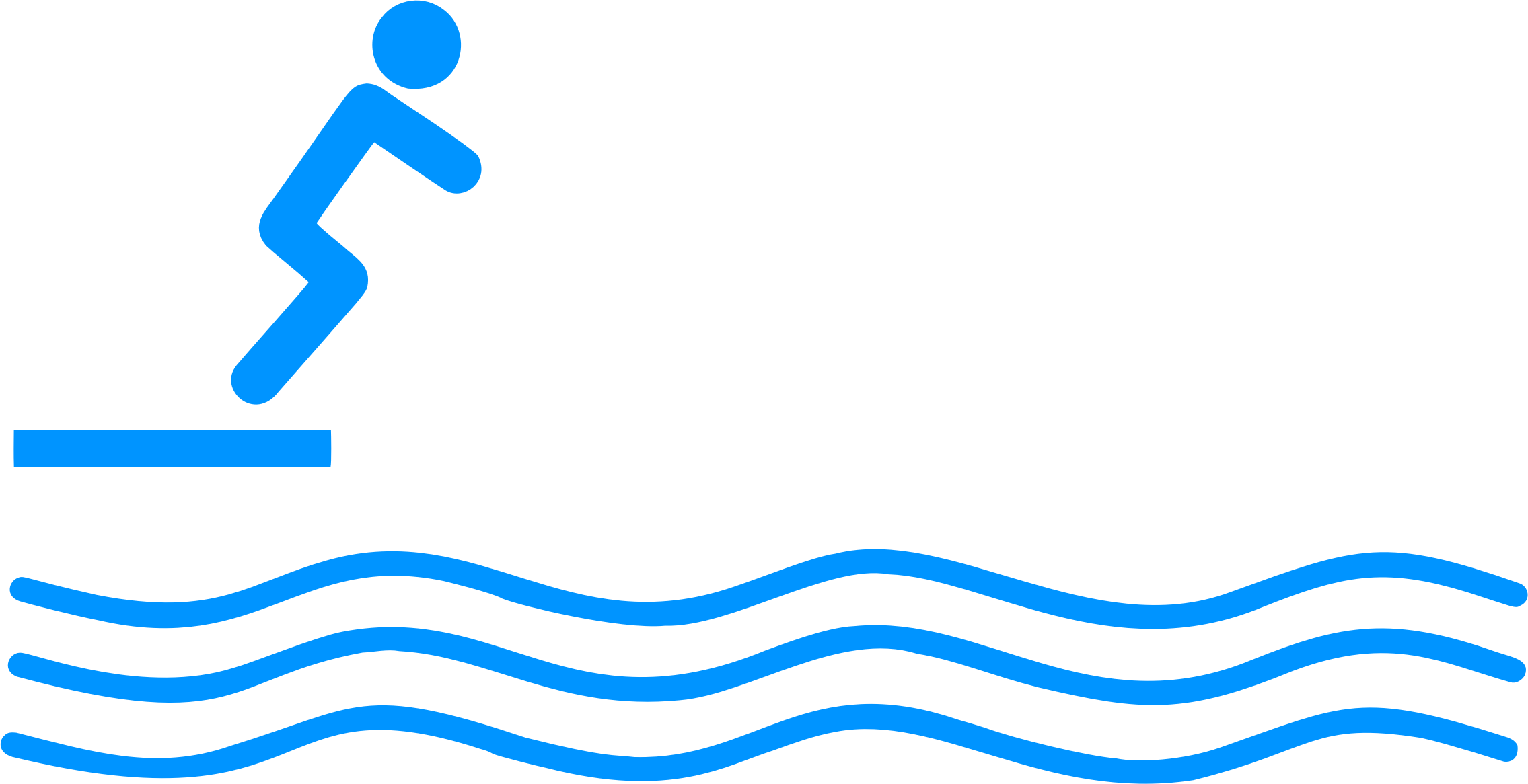 Person clipart diving. Icon