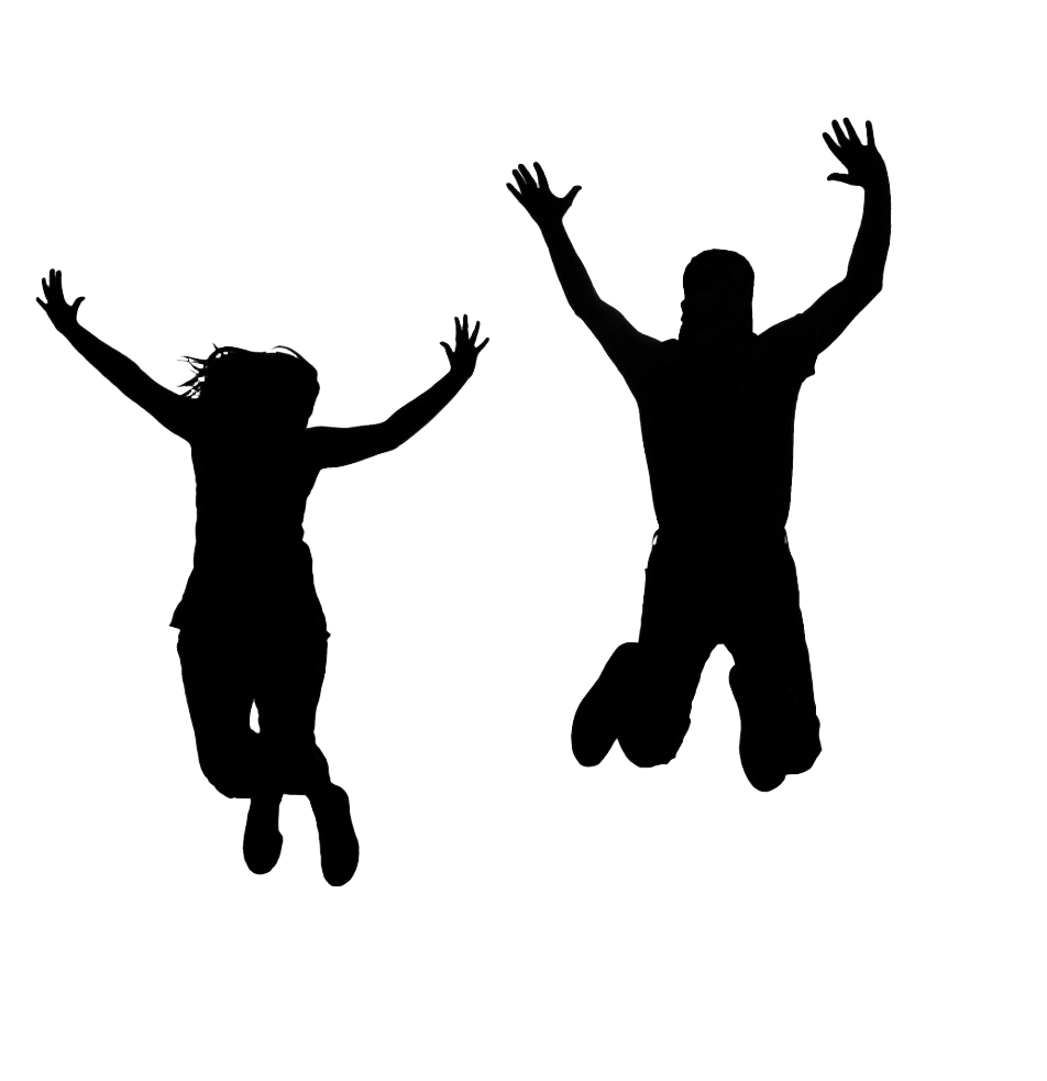 Jumping silhouette at getdrawings. Clipart people diving