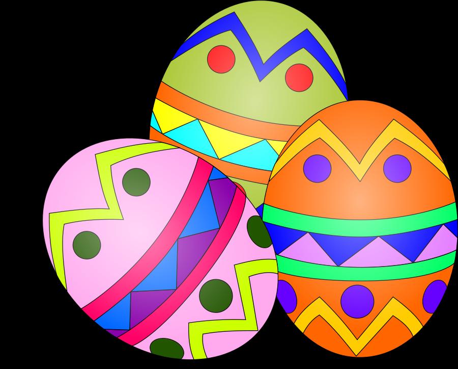 Man clipart egg. Easter clip art vector