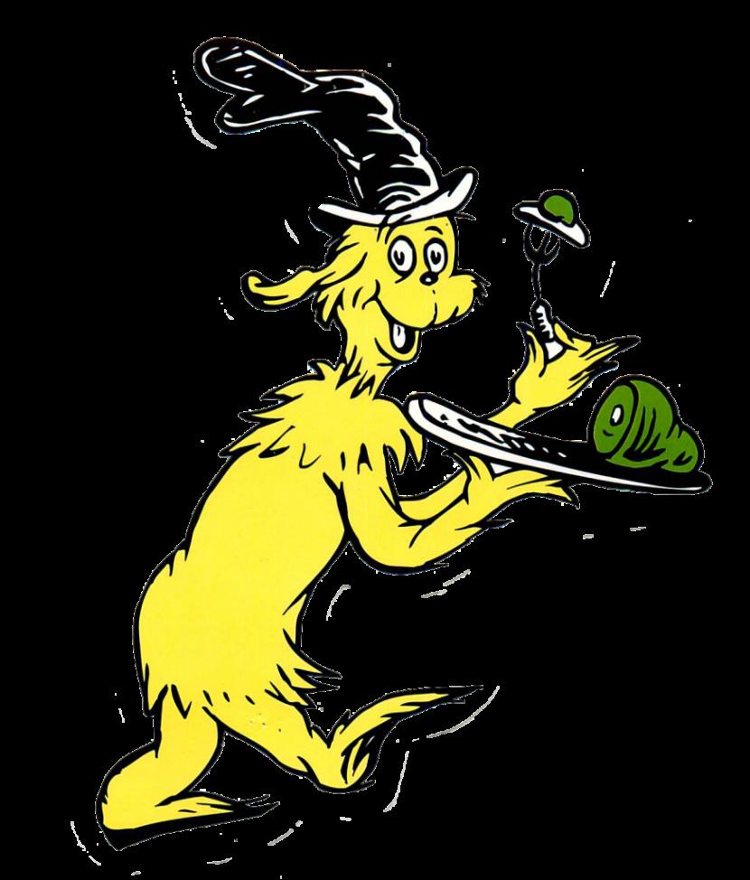Eggs clipart cartoon. Image green and ham