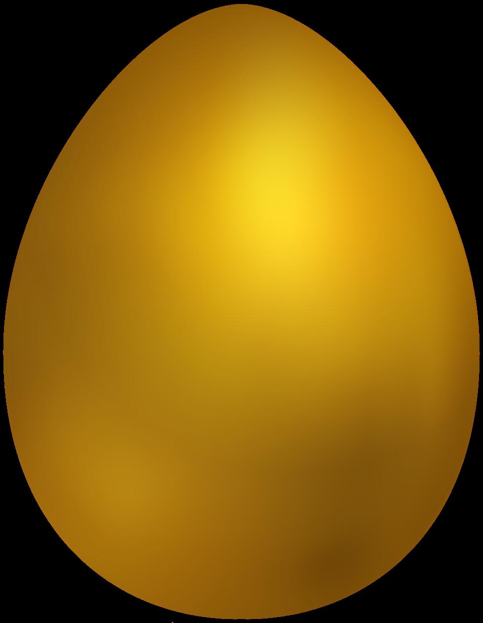 Man clipart egg. Gold easter png clip