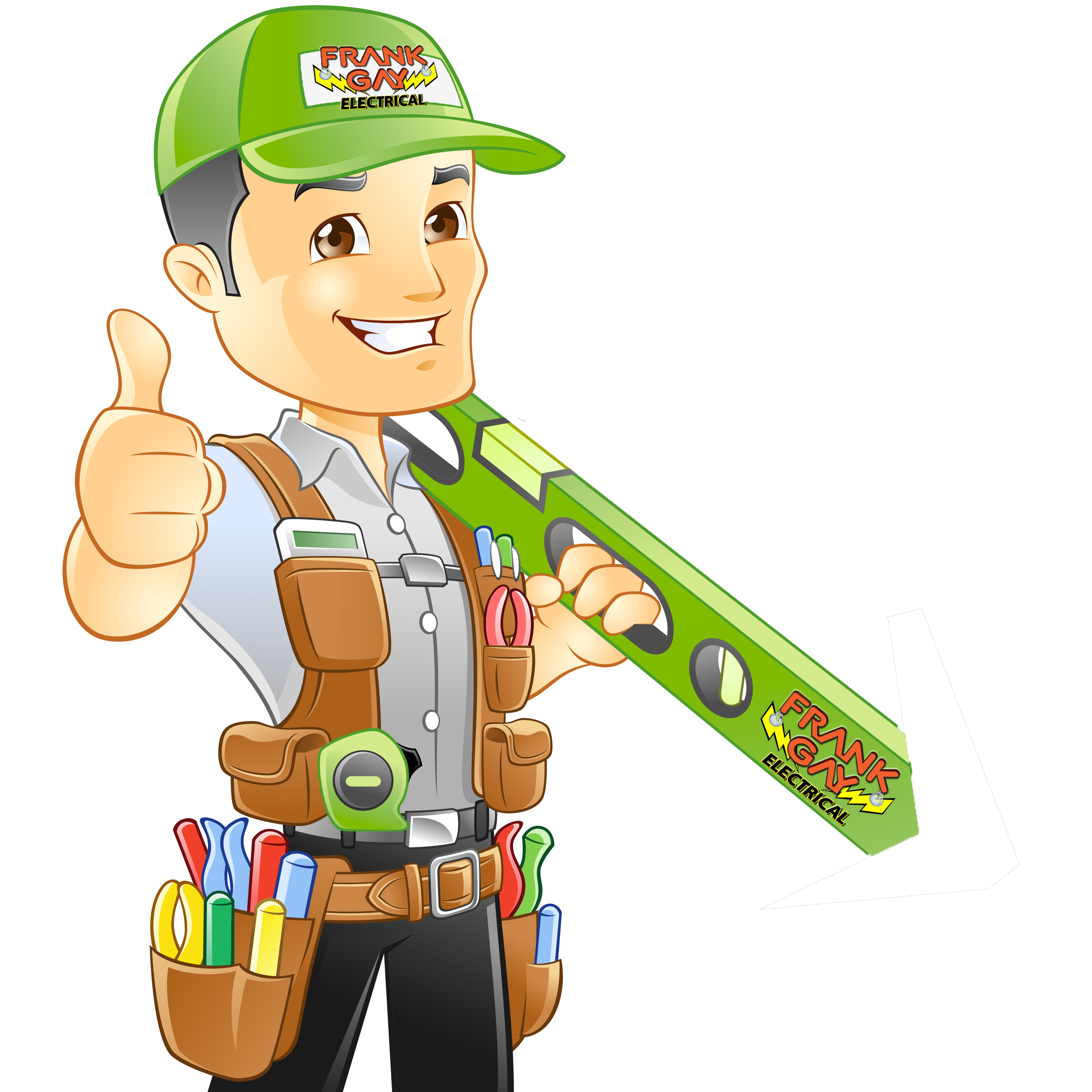 collection of electrical. Contractor clipart electrician
