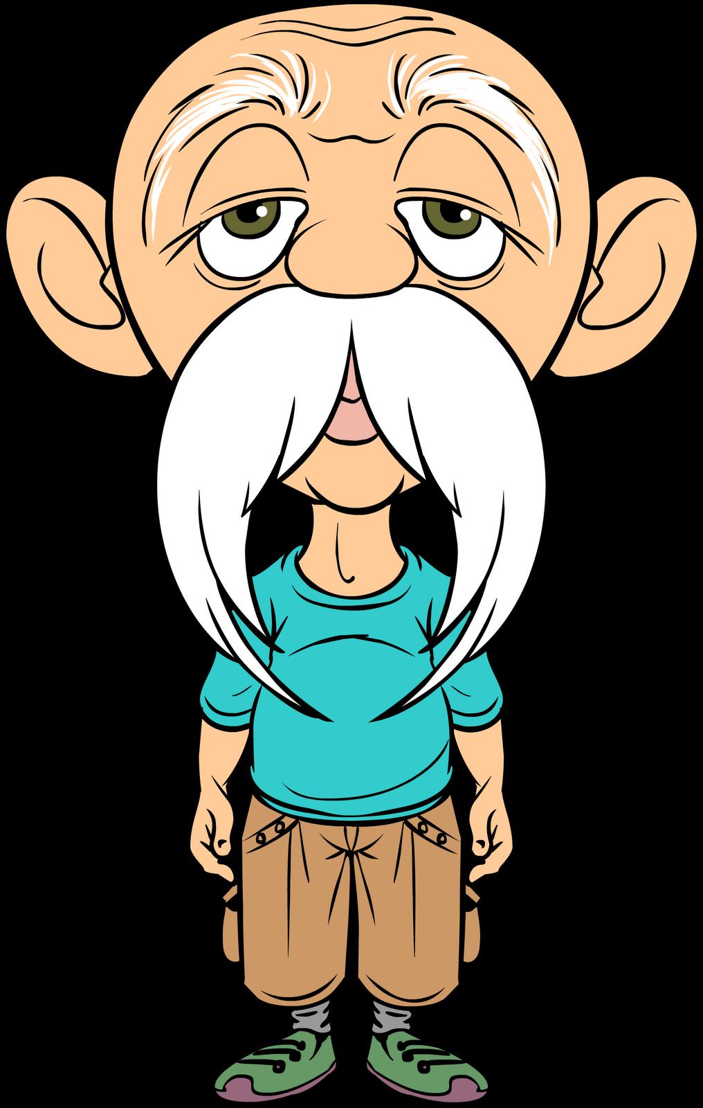 Old clipart viejo. Cartoon man drawing clip