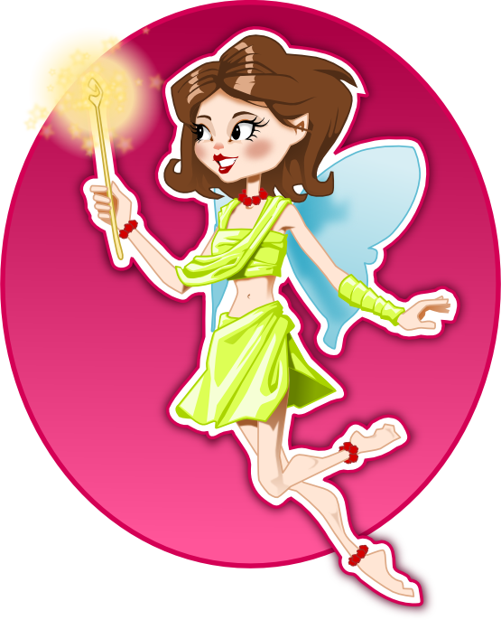 Fairy clipart body. Clipartist net tale flower