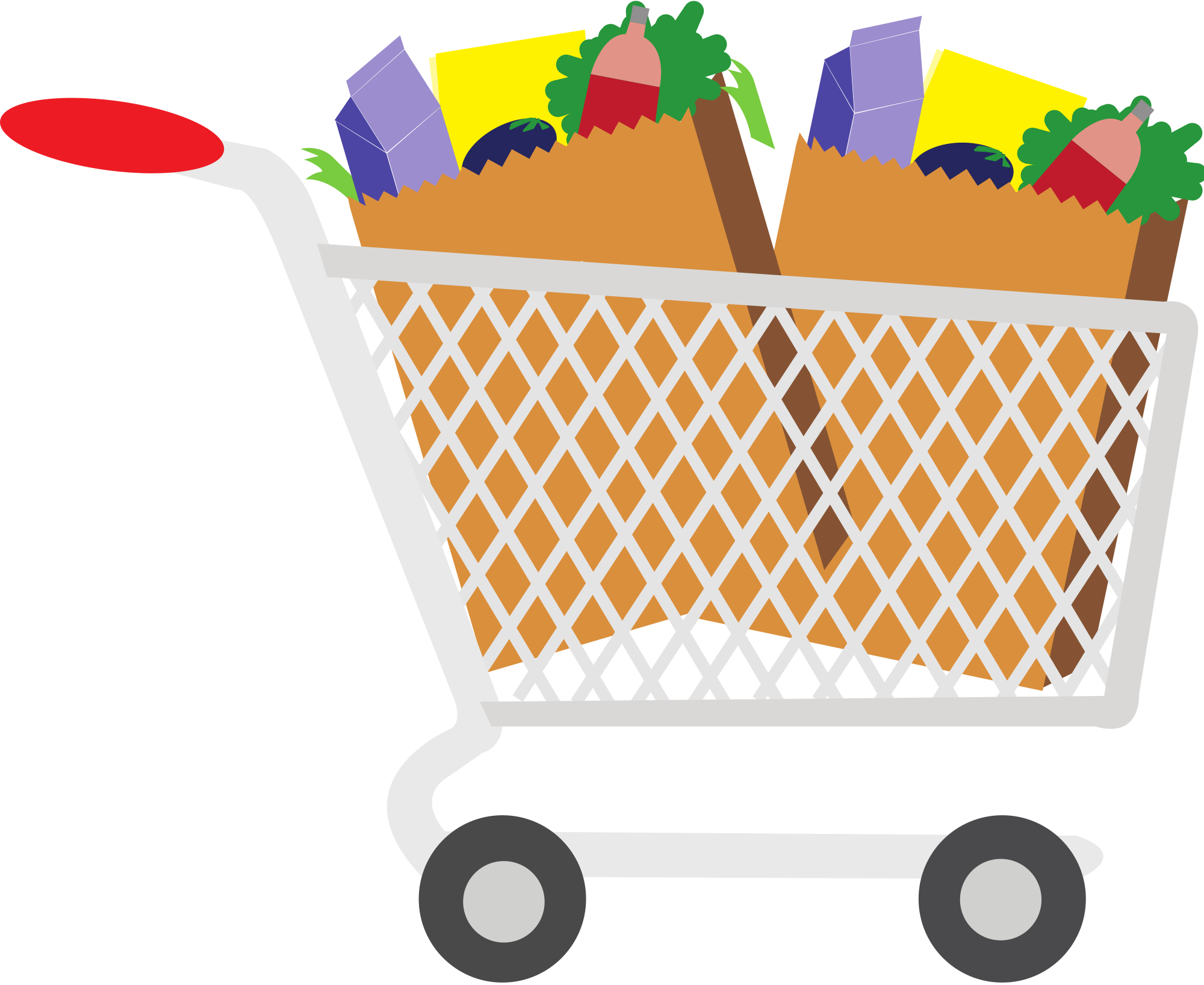 Exercising clipart food.  collection of grocery
