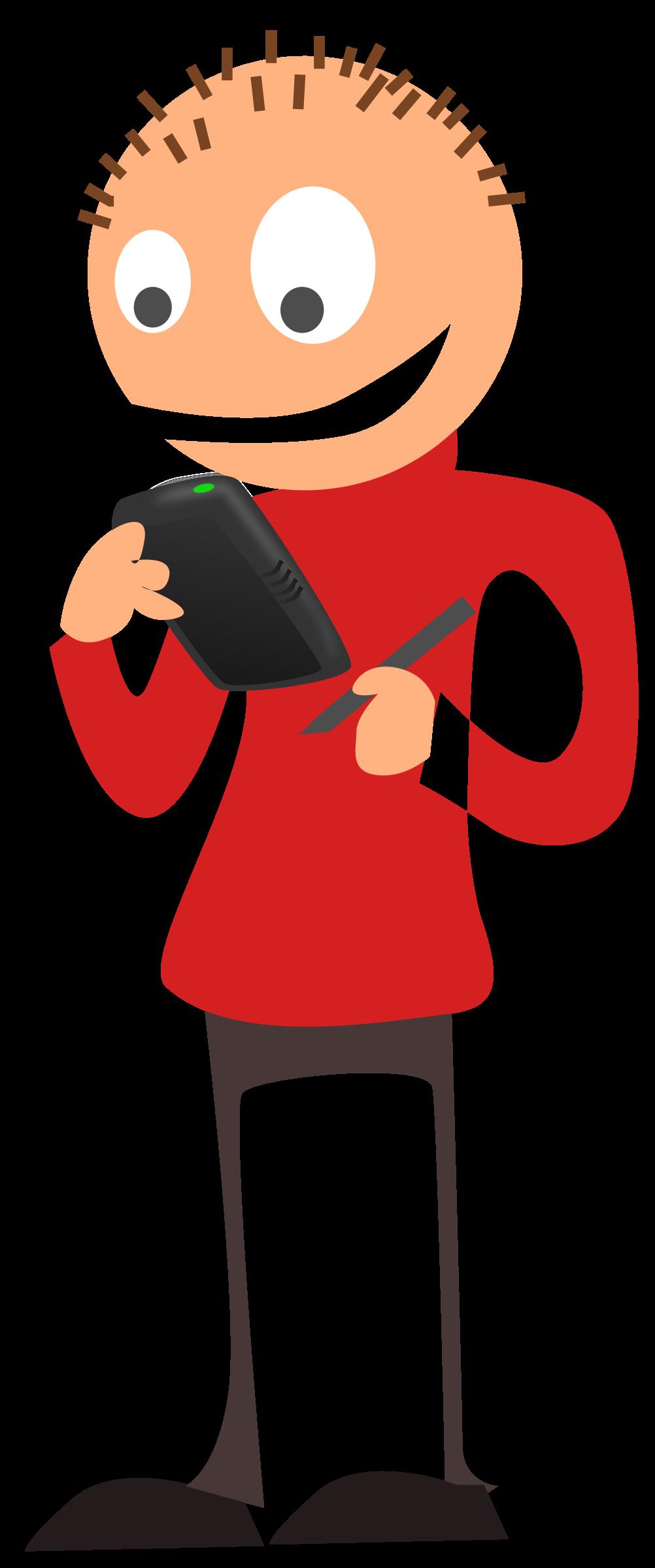 Telephone person