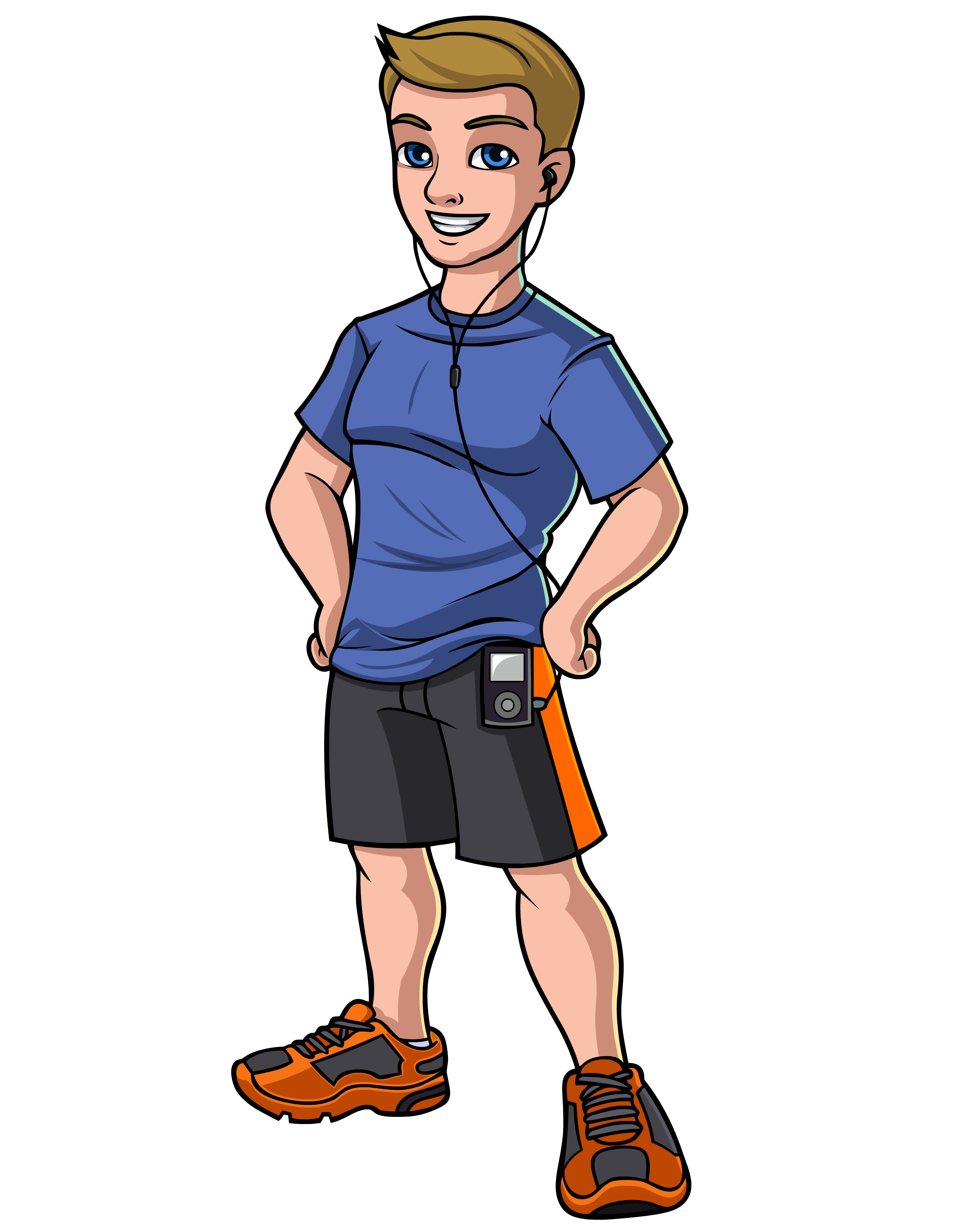 Gym clipart gym guy. Cartoon graphic i workout