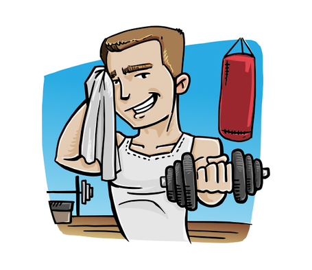 Fitness clipart boy. Free man cliparts download