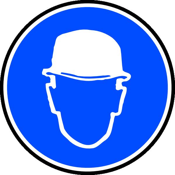 Helmet clipart construction worker. Mantatory hard hat over