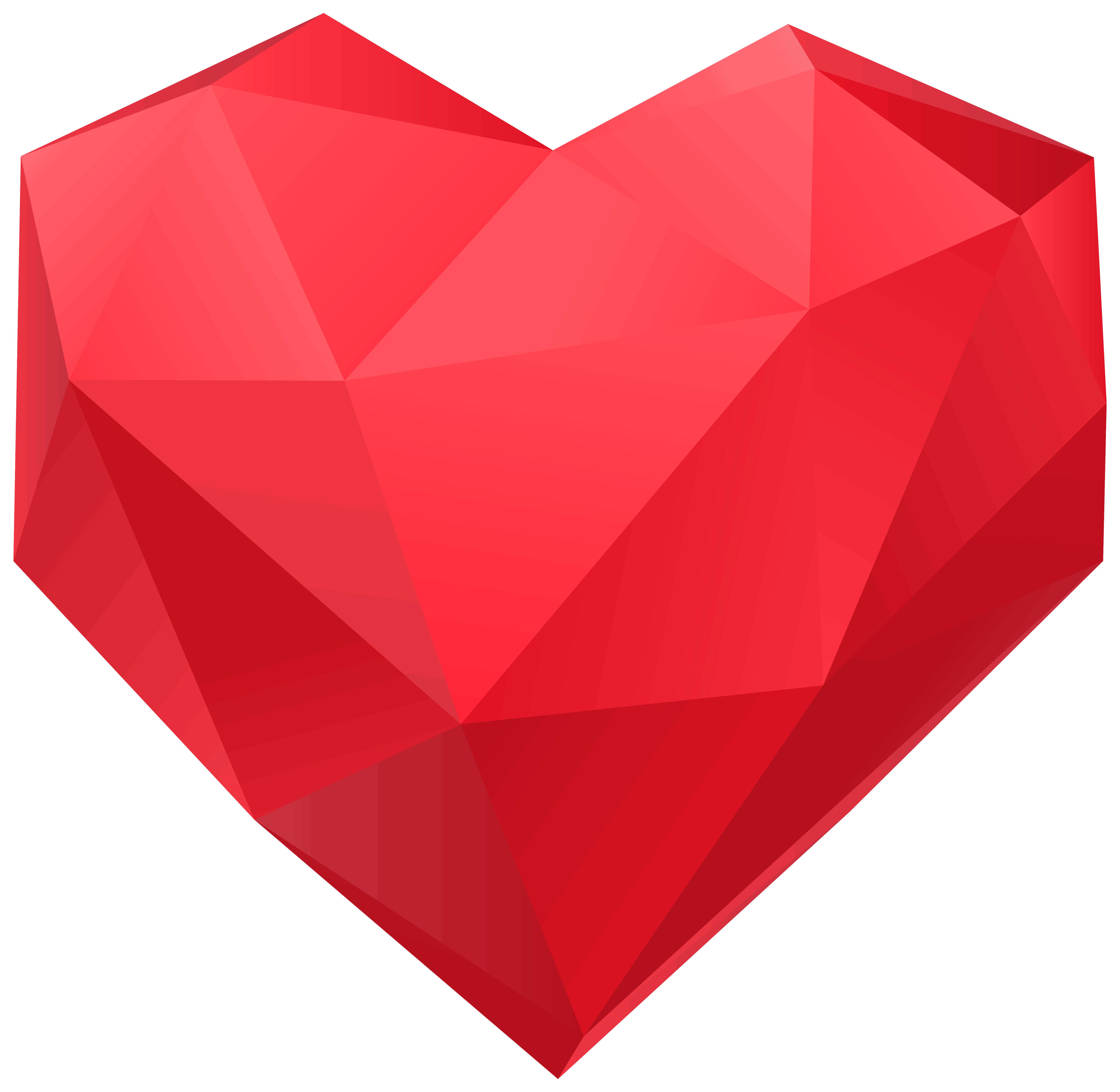 Asymmetrical png . Heart clipart flag