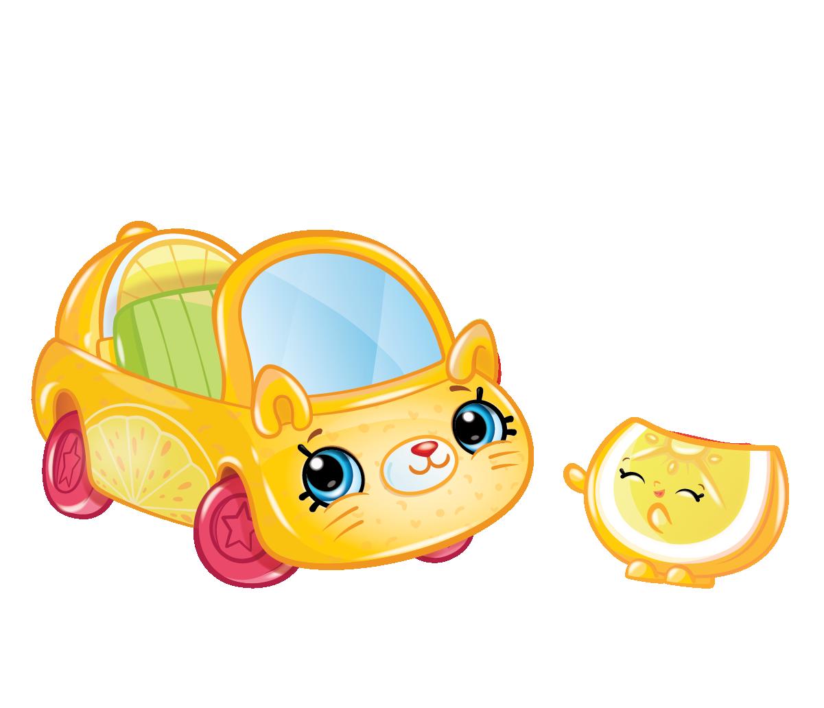 Cutie cars characters lemon. Lemons clipart smile