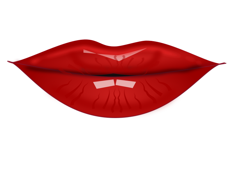Lipstick clipart pdf. Lip balm pencil and