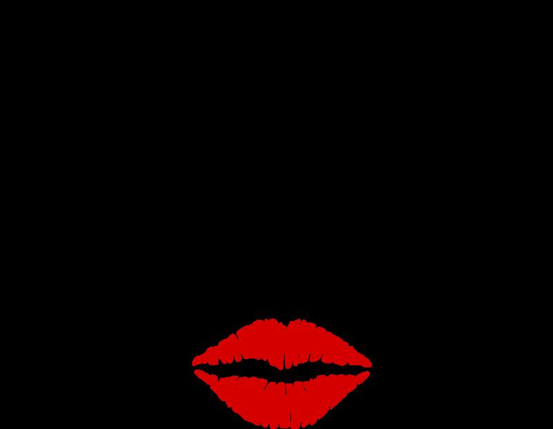 Nose clipart woman's. Woman eyes lips medium