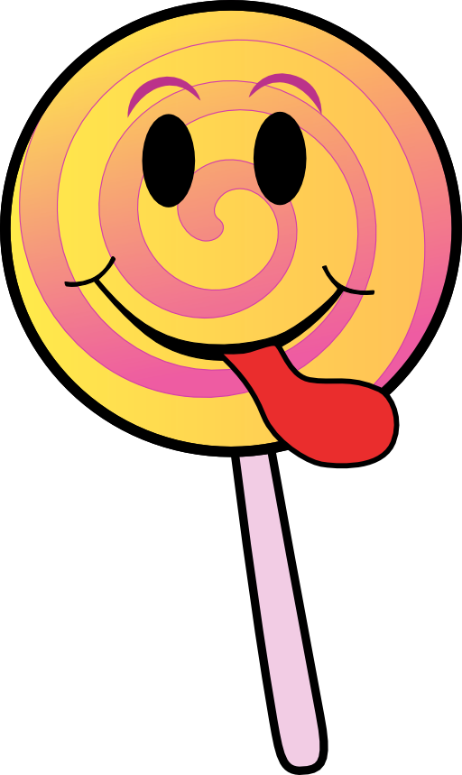 Lollipop clipart lollipop tree. Smiley i royalty free